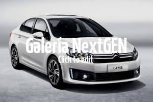 Así es el nuevo Citroën C4 Sedán para el mercado chino